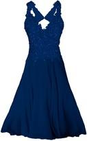 Angelika Jozefczyk Elegant Lace Dress With Crystals Mini