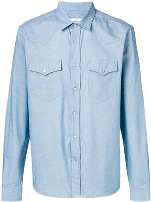 Ami Paris Snap Buttons Shirt