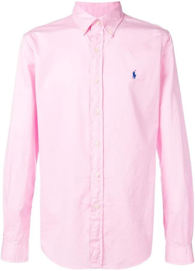 Polo Ralph Lauren embroidered logo slim-fit shirt
