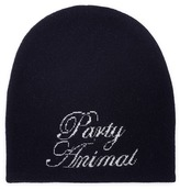 Alexander Wang 'Party Animal' slogan intarsia wool-cashmere beanie
