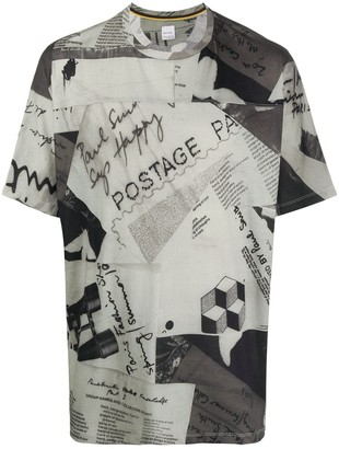 Paul Smith graphic print short-sleeved T-shirt