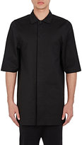 Rick Owens Men's Magnum Cotton-Blend Shirt-BLACK