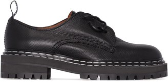 Proenza Schouler leather Oxford shoes