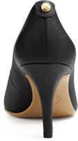 Michael Kors Flex Mid-Heel Leather Pump