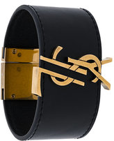 Saint Laurent logo monogram bracelet