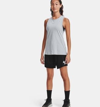 Under Armour Women's UA Colorblock Basketball Shorts