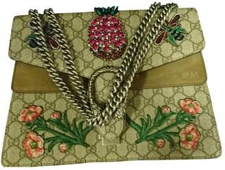 Gucci Dionysus Camel Leather Handbags