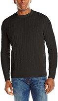 American Icon Men's Cable Crew-Neck Sweater