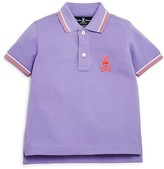 Psycho Bunny Boys' Color-Tipped Piqué Polo Shirt - Little Kid, Big Kid