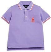 Psycho Bunny Boys' Color Tipped Piqué Polo Shirt - Sizes 4-16