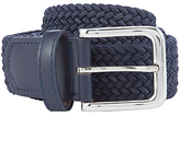 John Lewis Children's Woven Belt, Navy