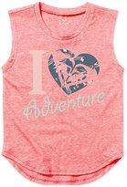 Roxy I Love Adventure Muscle Tank Top, Big Girls (7-16)