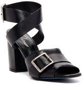 Delman Carly Ankle Strap Heeled Sandal