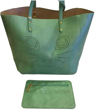 Paul & Joe Sister Green Leather Handbags