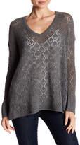 Calypso St. Barth Marita Pointelle Cashmere Sweater
