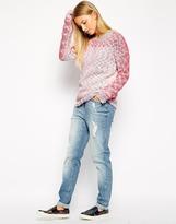 Vero Moda Coral Long Sleeve Sweater