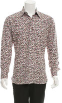 Tom Ford Floral Button-Up Shirt