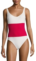 Anne-Marie Colorblock One Piece Swimsuit