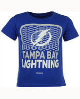 Reebok Tampa Bay Lightning Center Goal T-Shirt, Toddler Boys (2T-4T)