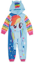 My Little Pony Long Sleeve One Piece Pajama-Toddler Girls