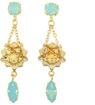 Rosaspina Firenze Pacific Opal Petite Flower Earrings