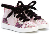 MonnaLisa floral print hi-tops