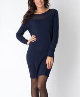 Yuka Paris Dark Blue Bianca Dress
