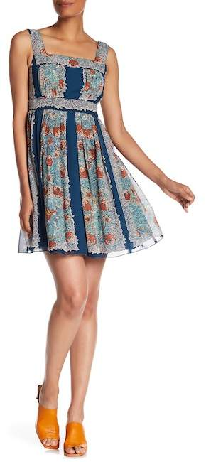 Anna Sui Silk Flower Child Dress