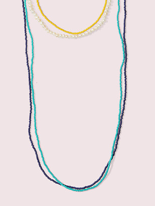 Kate Spade Seed Bead Multistrand Necklace