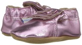 Robeez Mackenzie Moccasin Soft Sole Girl's Shoes