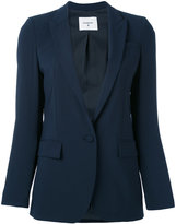 Dondup button up blazer - women - Virgin Wool/Spandex/Elastane/Polyester/Acetate - 38