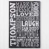 Just Us 24-Inch x 26-Inch Canvas Print