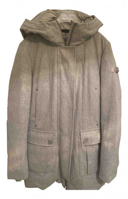 Peuterey Grey Cotton Coats