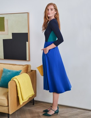 Ivy Ponte Midi Dress