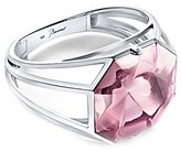 Baccarat L'illustre Silver Crystal Small Cuff Bracelet.