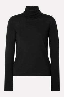 Max Mara Wool Turtleneck Sweater - Black