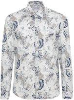 Poggianti 1958 Floral Print Shirt