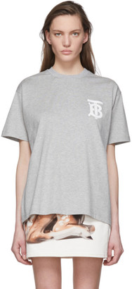 Burberry Grey Emerson T-Shirt