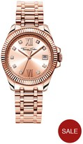 Thomas Sabo Divine Rose Tone Dial Stainless Steel Rose Tone Bracelet Ladies Watch