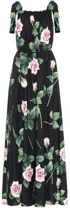Dolce & Gabbana Floral cotton jumpsuit