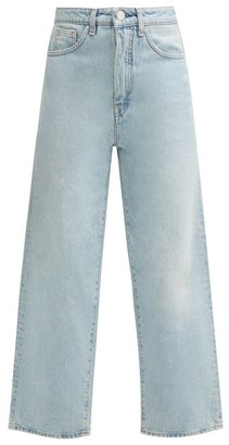Totême Flair High-rise Wide-leg Jeans - Light Blue