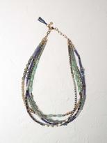 White Stuff Multi bead layer necklace
