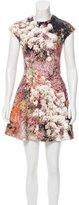 Carven Digital Printed Mini Dress