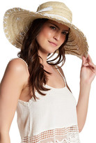 San Diego Hat Company Shells & Laced Floppy Hat