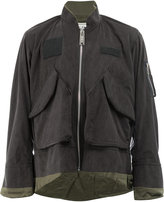 Miharayasuhiro cargo pocket bomber jacket
