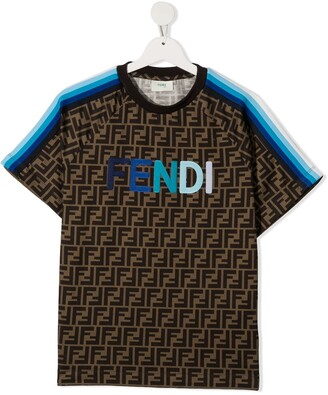 Fendi Kids FF print T-shirt