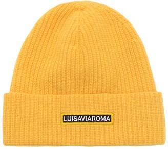 Luisa Via Roma Lvr Logo Wool Beanie