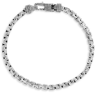 Effy Sterling Silver Greek Box Chain Bracelet