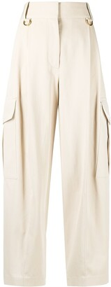 Givenchy Cargo-Style Straight-Leg Trousers