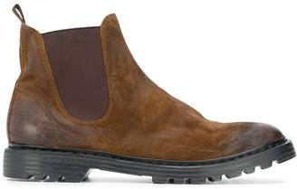 Premiata Distressed-Effect Chelsea Boots